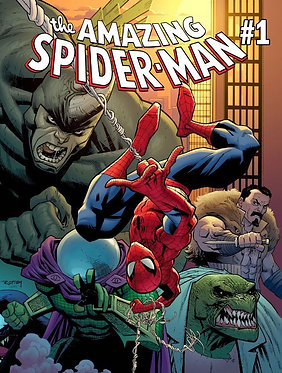 Amazing Spider-Man 6 Issue Subscription