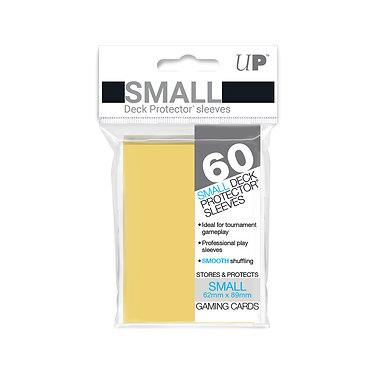 Yellow Small Deck Protector Sleeves 60-Pack (Ultra Pro)