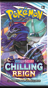 Pokémon TCG Sword & Shield: Chilling Reign Booster Pack