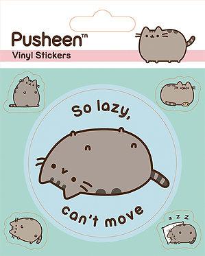 Pusheen (So Lazy) Vinyl Stickers
