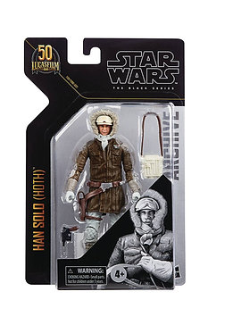 "Star Wars Black Series Archives: Han Solo (Hoth) 6"" Figure"