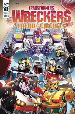 Transformers: Wreckers - Tread & Circuits #1