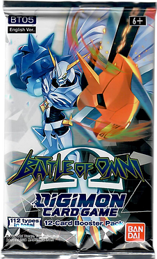 Digimon Card Game Battle of Omni Booster Pack (BT-05)