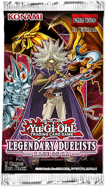 Yu-Gi-Oh!: Legendary Duelists Rage of Ra Booster Pack (Unlimited)