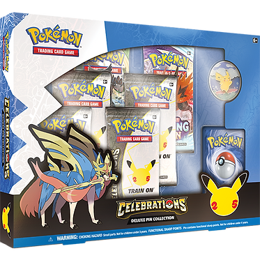 Pokémon TCG: Celebrations Deluxe Pin Box