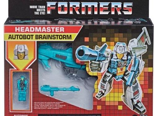 Transformers: Brainstorm Deluxe Headmaster G1 Retro Rerelease