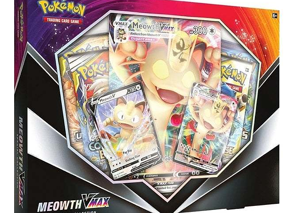 Pokémon: Meowth V Max Special Collection