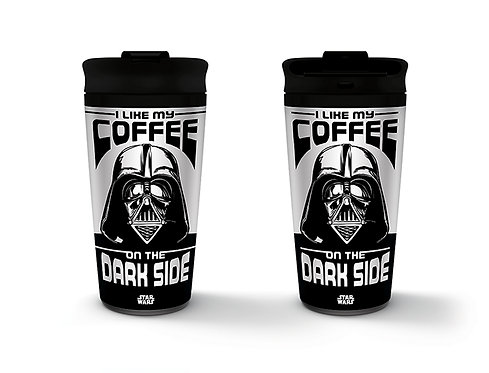 Star Wars: Dark Side Metal Travel Mug