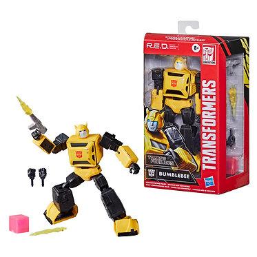 Transformers R.E.D. G1 Bumblebee Non-Converting Figure