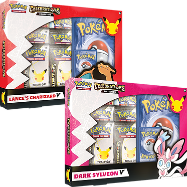 Pokémon TCG: Celebrations V Box - Dark Sylveon V
