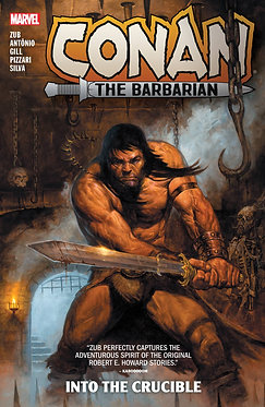 Conan the Barbarian by Jim Zub Vol. 1: Into the Crucible