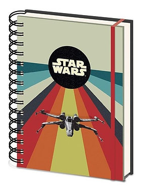 Star Wars: X-Wing Retro Style A5 Notebook