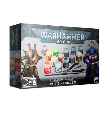 Warhammer 40K Paints + Tools Set (60-12)