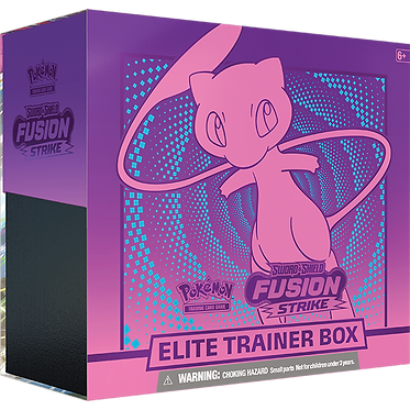 Pokémon Sword & Shield: Fusion Strike Elite Trainer Box