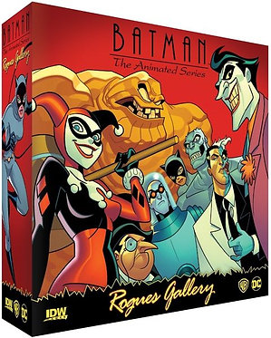 Batman: The Animated Series - Rogue's Gallery Card Game
