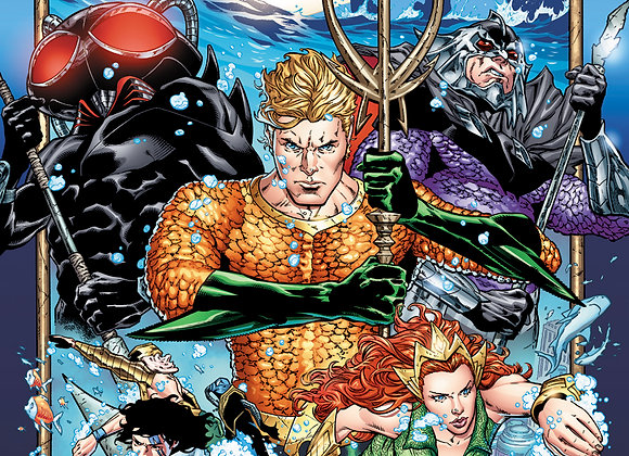 Aquaman 12 Issue Subscription