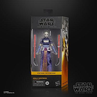 """Star Wars Black Series: Asajj Ventress 6"""" Figure"""