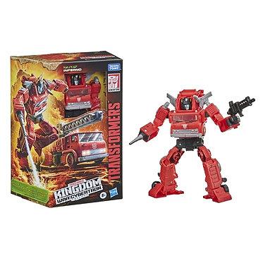 Transformers WFC Kingdom: Inferno (Voyager Class)