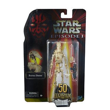 "Star Wars Black Series: Battle Droid (Episode I Lucasfilm 50th) 6"" Figure"