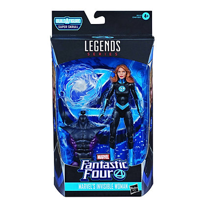 Marvel - Invisible Woman (FF Legends) Action Figure