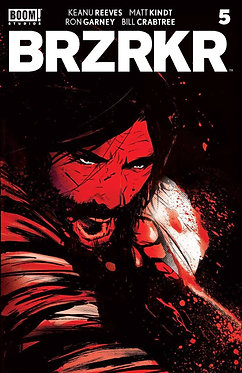 BRZRKR #5 Cover A