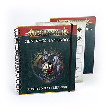 Warhammer Age of Sigmar General's Handbook Pitched Battles 2021 (80-18)