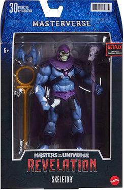 "Masters of the Universe: Revelation Skeletor Masterverse 7"" Figure"