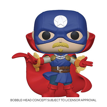 Marvel Infinity Warps: Soldier Supreme Pop! Figure