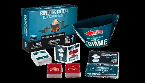 Exploding Kittens: Recipes for Disaster Card Game