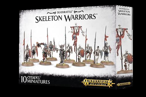 Warhammer Age of Sigmar: Deathrattle Skeleton Warriors (91-06)