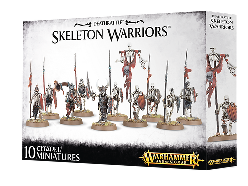 Warhammer Age of Sigmar: Deathrattle Skeleton Warriors (91-06)