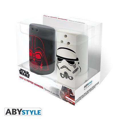 Star Wars Salt & Pepper Shakers (Vader & Trooper)