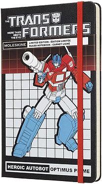 Transformers (Optimus Prime) Ltd Ed Moleskine Notebook