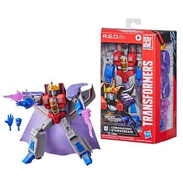 Transformers R.E.D. G1 Coronation Starscream Non-Converting Figure