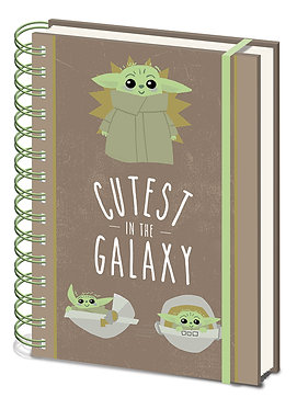 Star Wars: The Child Cutest in the Galaxy A5 Notebook