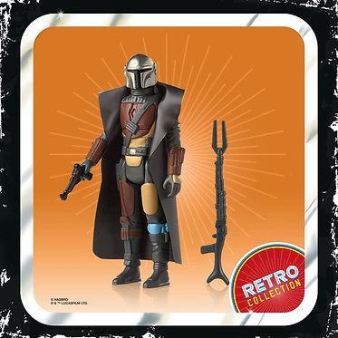 "Star Wars: The Mandalorian Vintage/Retro: Mandalorian 3.75"" Figure"