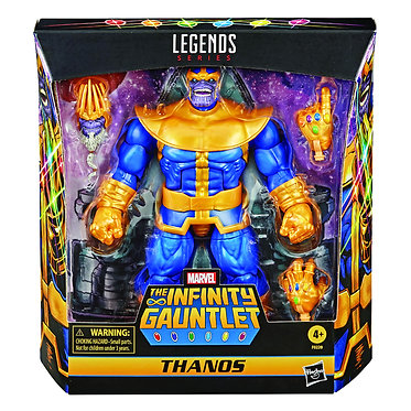 "Marvel Legends: Thanos Deluxe 6"" Action Figure"