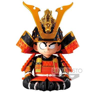 "Dragon Ball: Goku (Japanese Armor & Helmet) 4"" Figure"