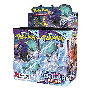 Pokémon Sword & Shield: Chilling Reign Booster Box