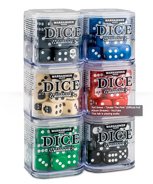 Warhammer Dice Cube (20 12mm Dice)