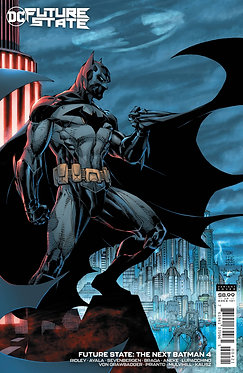 Future State: The Next Batman #4 Cardstock Variant