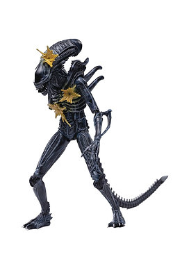 Hiya Toys: Aliens: Battle Damaged Alien Warrior 1/18 Figure (Previews Exclusive)