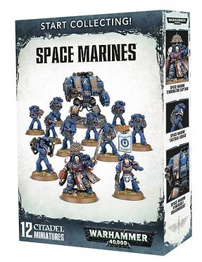 Warhammer 40K: Start Collecting! Space Marines (70-48)