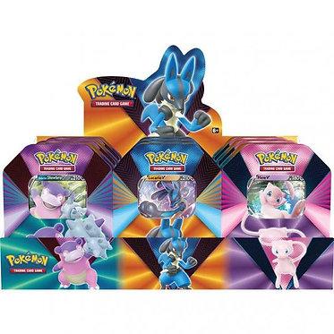 Pokémon: V Forces Tin (Galarian Slowbro, Lucario, Mew)