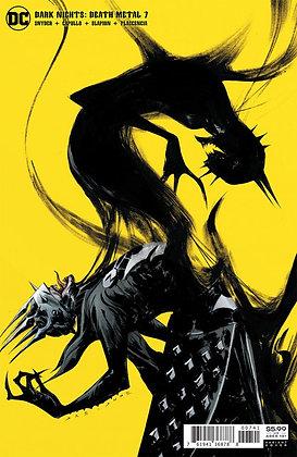 Dark Nights Death Metal #7 (of 7) Jae Lee Cover