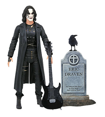 """The Crow Deluxe 7"""" Action Figure by Diamond Select"""