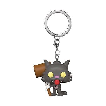 Simpsons: Scratchy Pocket Pop! Keychain