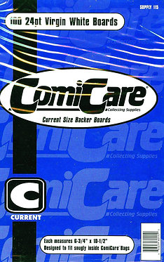 ComiCare Current Size Comic Backing Boards (Pack of 100)
