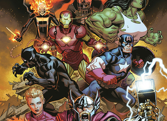 Avengers 12 Issue Subscription