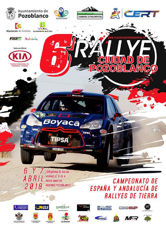 Información VI Rallye de Tierra Ciudad de Pozoblanco